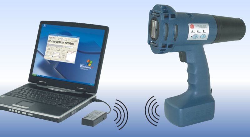 Каплеструйный ручной маркиратор серии EBS-250 HandJet